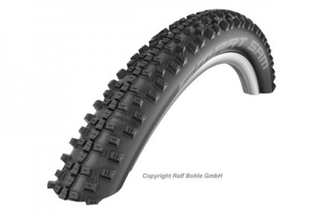 SCHWALBE 27.5×2.10, 650B (54-584) SMART SAM WIRED PL TYRE