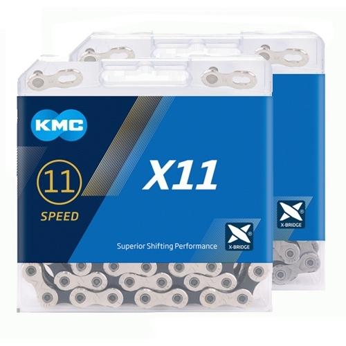 kmc-x11-chain-silver-black-118-links